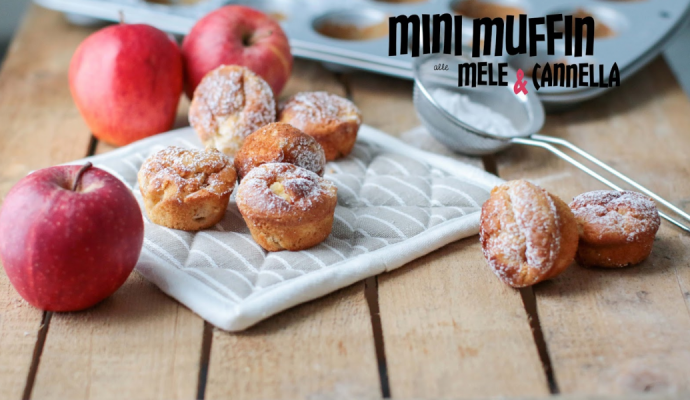 Mini Muffin Mele & Cannella